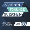 Scheibentönung Pirna Gutschein 189€